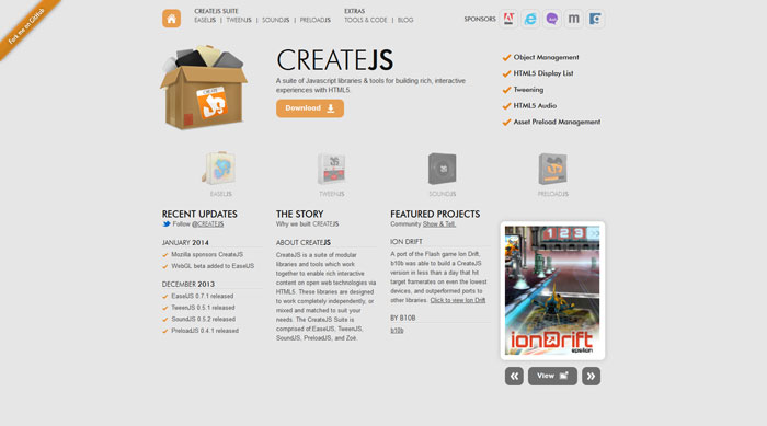 CreateJS