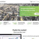 Создание сайта - Global Financial Broker